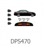 4 Parking Sensors - Audio & Dash Display - Wirel..