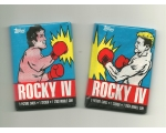 1985 Topps Rocky 4 Trading Cards