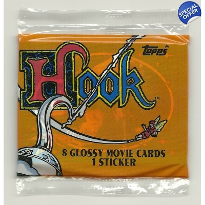 1991 Topps Hook Trading Cards