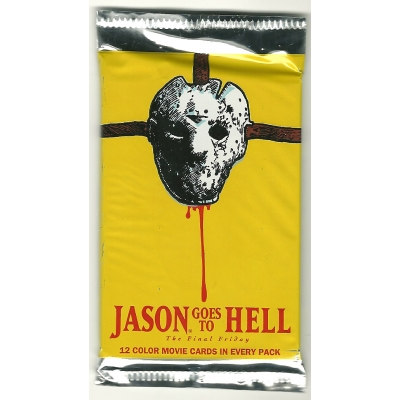 1993 Eclipse JASON GOES TO HELL: THE FINAL FRIDAY Trading Cards