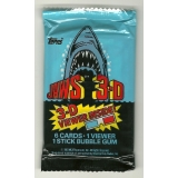1983 Topps Jaws 3-D Trading Cards