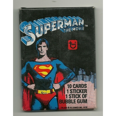 1978 Topps Superman: The Mov..
