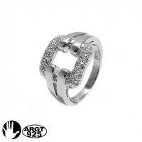 RING SILVER 925 WITH CUBIC ZIRCONIA