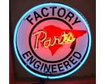 Pontiac Factory Parts 24 inch Full Can Neon Sign
