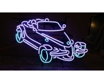 Prowler Neon Car Sign MEASURES 29 x 18