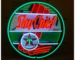 Texaco Sky Chief Neon Sign Measures 24 x 24