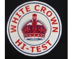 White Crown Hi-Test Graphic Decal