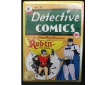 NEW Detective Comics Batman Metal Embossed Sign