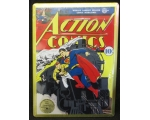 NEW Action Comics Embossed Superman comic Sign