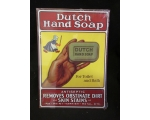 NEW Dutch hand Soap Metal 12