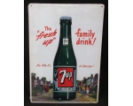 NEW 7up Soda Metal 12