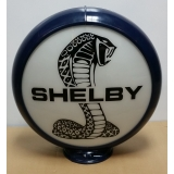 Shelby Cobra Gas Pump Advertising Globe