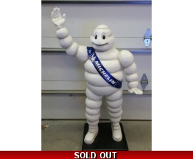 "48"" Tall Michelin Man Fiberglass Statue"