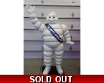 Life Size Michelin Man Fiberglass Statue 6ft Tall!