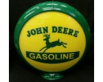 John Deere Gasoline Advertising Globe 13.5