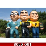 Pep Boys Wall Statue Sign *Many, Moe, ..