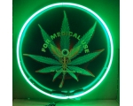 Medical Marijuana Eye Neon Sign 24