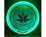 Medical Marijuana Snake Neon Sign 24