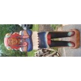 Life size 6' Indian Chief Statue Hand ..