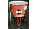 Original K&W 5 Minute Motor Flush Can, Empty, Me..