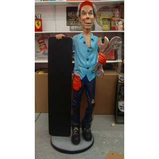 Life Size 3D Mechanic S..