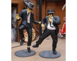 Life Size Fiberglass Blues Brothers Jake And Elw..