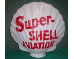 Super Shell Aviation Gas Pump Globe