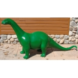 8ft. Long Life Size Dino Statue