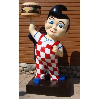 8ft. Tall 3D Life Size Big Boy Hamburg..