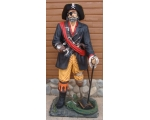 Lifesize 6.5 Ft Captain Hook Pirate Statue