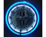 Mustang Legend Neon Clock
