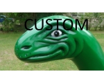 Custom Color! Dino 8ft Long Life Size Dino Sta..