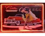 Cadillac Neon Pin Up Full Canister Stunning Red ..