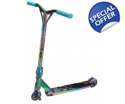 Petrol Rainbow X-Gen Neo Chrome Scooter with Stunt Pegs