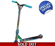 Team Dogz Pro 4 X-Gen Rainbow Neo Chrome Stunt Scooter - Pre Order