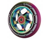 110mm Purple & Green Neo Chrome X-Gen Pro4 Wheel