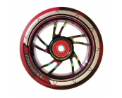 Pro Swirl 110mm Nebula Rainbow Core, Black & Red..