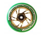 Pro Swirl 110mm Chrome Gold Core, Green PU