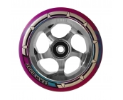 110mm Chrome Silver Core - Blue & Purple Mix PU ..