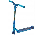 Team Dogz Pro 4 Chrome Blue High End Stunt Scooter