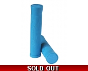 Team Dogz Logo Flangeless Slip On Grips Blue