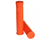 Team Dogz Logo Flangeless Slip On Grips Orange