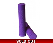 Team Dogz Logo Flangeless Slip On Grips Purple