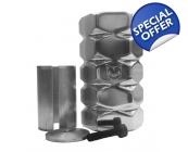 Dogz Big Nutz Clamp - Silver SCS