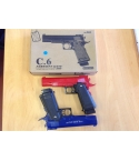 Metal BB gun C6 x 24 pcs