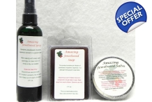 Amazing Jewelweed Kit for Poison Ivy, Oak and Itching