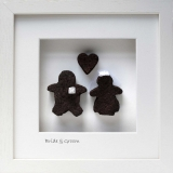 Bride & Groom with Heart - Large