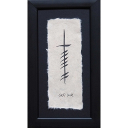 Ogham Personalised Wedding Gift : Ogham Wishesbeautiful personalized celtic gifts, handpainted in ...