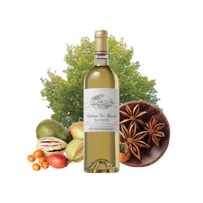 Sauternes, Chateau Les Guizats 2012, Bordeaux France - 375ml title=