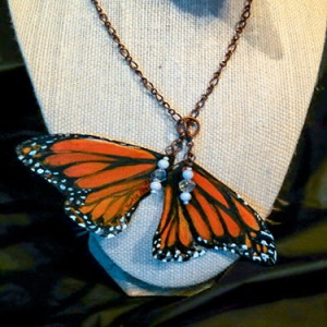 Monarch Butterfly Neckl..